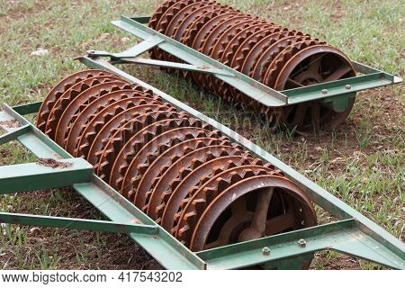 Part And Details Of Agricultural Disc Harrow