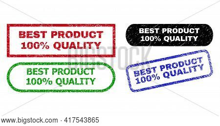 Best Product 100 Percent Quality Grunge Seal Stamps. Flat Vector Distress Seal Stamps With Best Prod