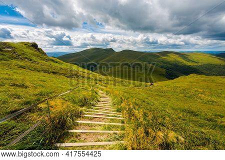 Bukowe Berdo Path In Bieszczady