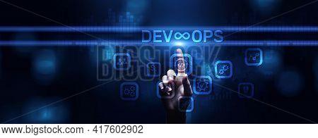 Devops Methodology Development Operations Agil Programming Technology Concept