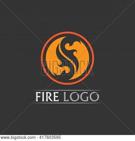 S Fire, Fire Flame Vector Illustration Design Template Power, Hot, Icon, Logo, Light, Devil, Blaze,