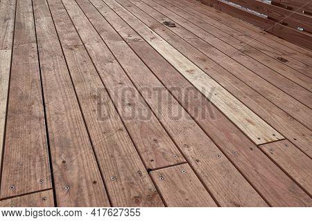 Wooden deck background lumber pattern