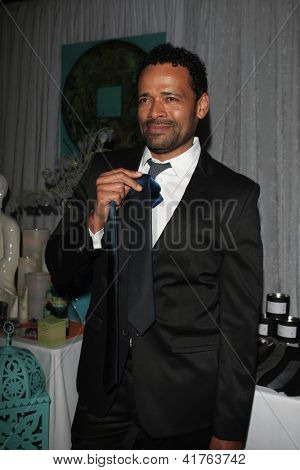 LOS ANGELES - FEB 1: Mario Van Peebles in the Bellafortuna Entertainment gifting suite at the NAACP awards on February 1, 2013 in Los Angeles, California
