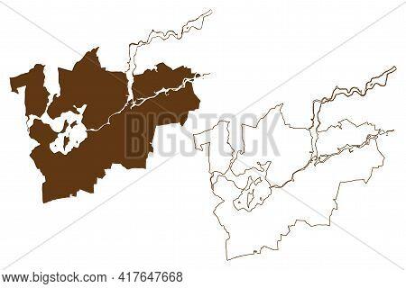 Brandenburg An Der Havel City (federal Republic Of Germany, Urban District, State Of Brandenburg) Ma