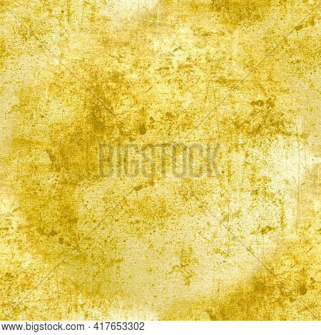 Rough Grunge Dirty Texture. Aged Grungy Stone Design. Retro Dust Border. Ancient Distress Background