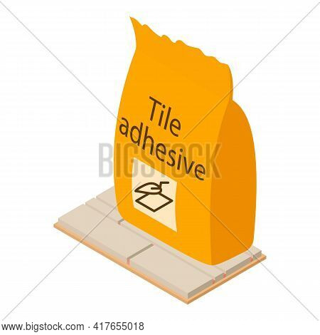 Laying Tile Icon. Isometric Illustration Of Laying Tile Vector Icon For Web