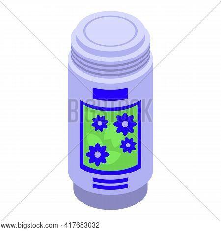 Air Freshener Bottle Icon. Isometric Of Air Freshener Bottle Vector Icon For Web Design Isolated On