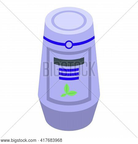 Ment Air Freshener Icon. Isometric Of Ment Air Freshener Vector Icon For Web Design Isolated On Whit