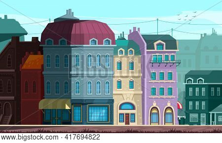 Architectural Evolution Renovated Neoclassical Style Public Buildings With Domed Roofs Imposing Resi