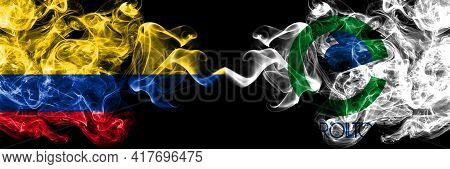 Colombia, Colombian Vs United States Of America, America, Us, Usa, American, Carrollton, Texas Smoky