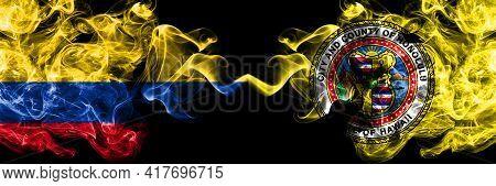 Colombia, Colombian Vs United States Of America, America, Us, Usa, American, Honolulu, Hawaii Smoky