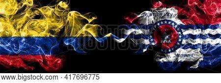 Colombia, Colombian Vs United States Of America, America, Us, Usa, American, Jefferson City, Missour