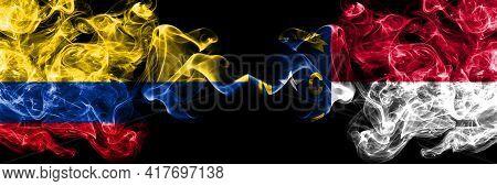 Colombia, Colombian Vs United States Of America, America, Us, Usa, American, North Carolina Smoky My