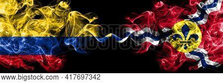 Colombia, Colombian Vs United States Of America, America, Us, Usa, American, Saint Louis, Missouri S