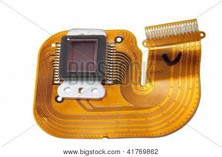 Sensor of the digital camera