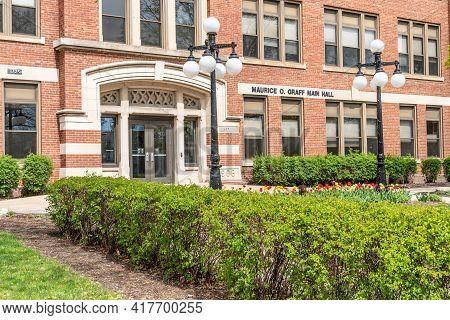 Maurice O. Graff Main Hall At The University Of Wisconsin-la Crosse