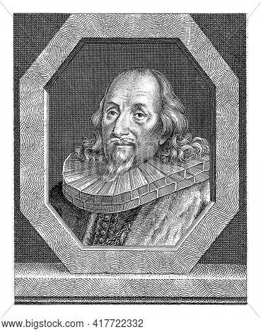 Portrait of Georg Imhof, magistrate in Nuremberg.