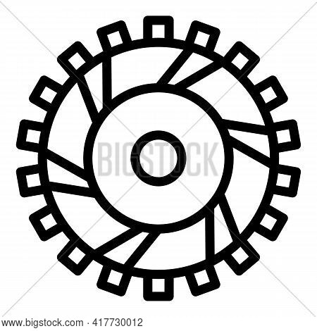 Auto Clutch Icon. Outline Auto Clutch Vector Icon For Web Design Isolated On White Background