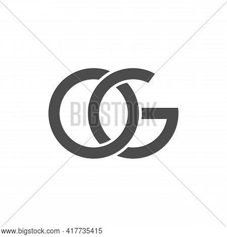 Illustration Vector Design Graphic Of Logo Letter Og