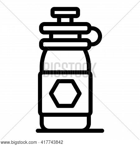 Trip Drink Bottle Icon. Outline Trip Drink Bottle Vector Icon For Web Design Isolated On White Backg
