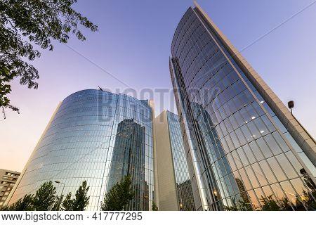 Santiago De Chile, Región Metropolitana, Las Condes, Chile, South America - January 11, 2017: Modern