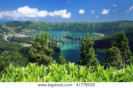 Viewpoint Vista do Rei at Sao Miguel (Azores)