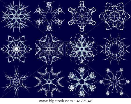 Snowflake Set 6