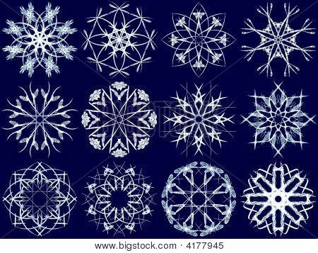 Snowflake Set 9