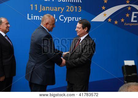 Boyko Borissov and Nicos Anastasiades