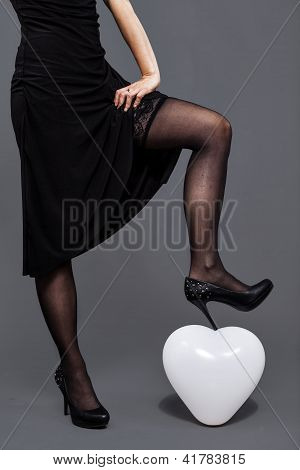 Lace Pantyhose Girl Crushes The Love