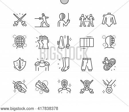 Fencing. Fencing Protective Clothing. Swordsman, Fencer With Epee. Competition, Defeat, Training And