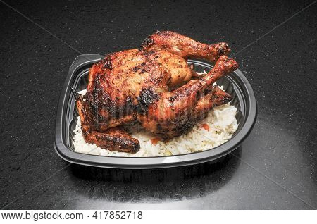 Delicious Healthy Hot And Freshly Grilled Whole Chicken