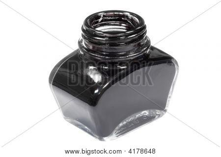 Jar Of Black Ink