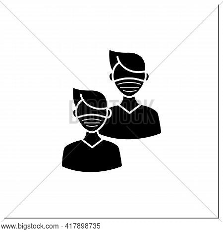 Junior Glyph Icon. Younger Student. Freshman, First-year Student. Protection From Other People. Trai