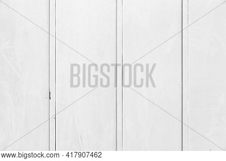 White Corrugated Metal Background And Texture Surface Or Galvanize Steel