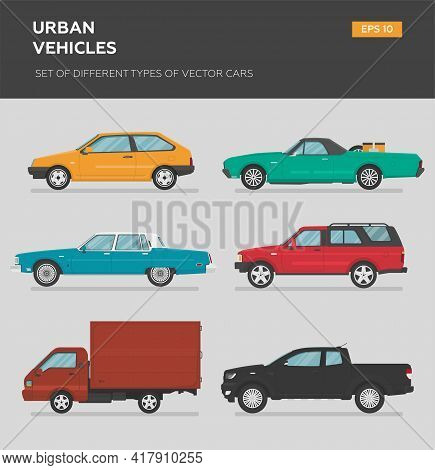 Transport Design Over White Background, Vector Illustration. Collection Car Icon Set 4x4, Business A