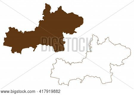 Main-kinzig District (federal Republic Of Germany, Rural District Darmstadt Region, State Of Hessen,