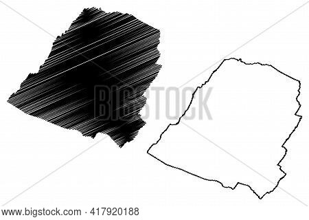 Hampshire County, State Of West Virginia (u.s. County, United States Of America, Usa, U.s., Us) Map