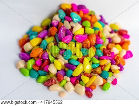 Tasty Colorful Candy. Different Tasty Colorful Candies.