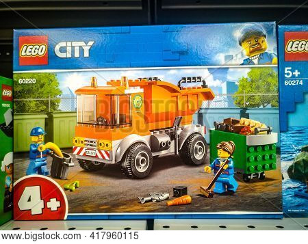 Construction Set Lego City Great Vehicles Garbage Truck 60220 In The Hypermarket For Sale On 11.04.