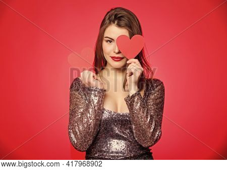 I Am In Love. Romantic Greeting. Be My Valentine. Valentines Day Party. I Love You. Sensual Girl Wit