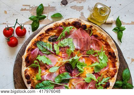 Hot Delicious Pizza Images. Best Different Flavors Pizza To Eat