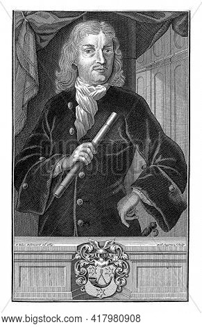 Portrait of Joan van Hoorn, Governor-General of the Dutch East Indies