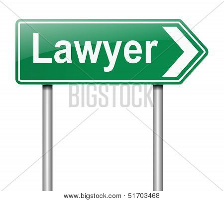 Lawyer Concept.