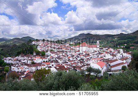 Overview Of Historic Castelo De Vide