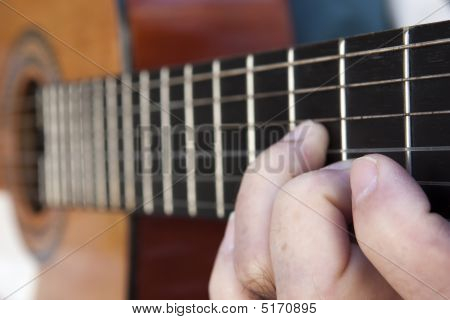Artist With A Guitar