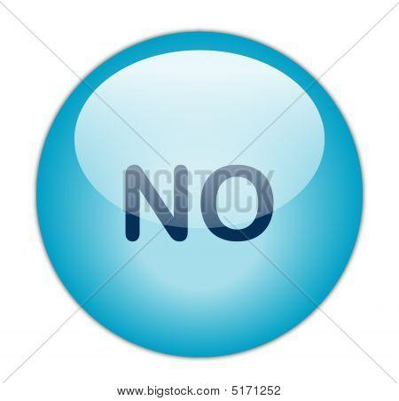 The Glassy Blue No Button