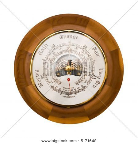 Barometer Isolated