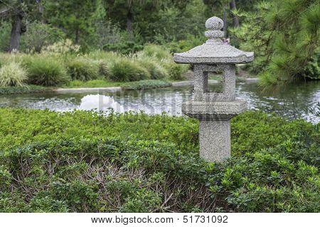 Oriental Garden Pagoda Statue