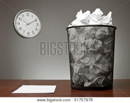 Recycle Bin in an office